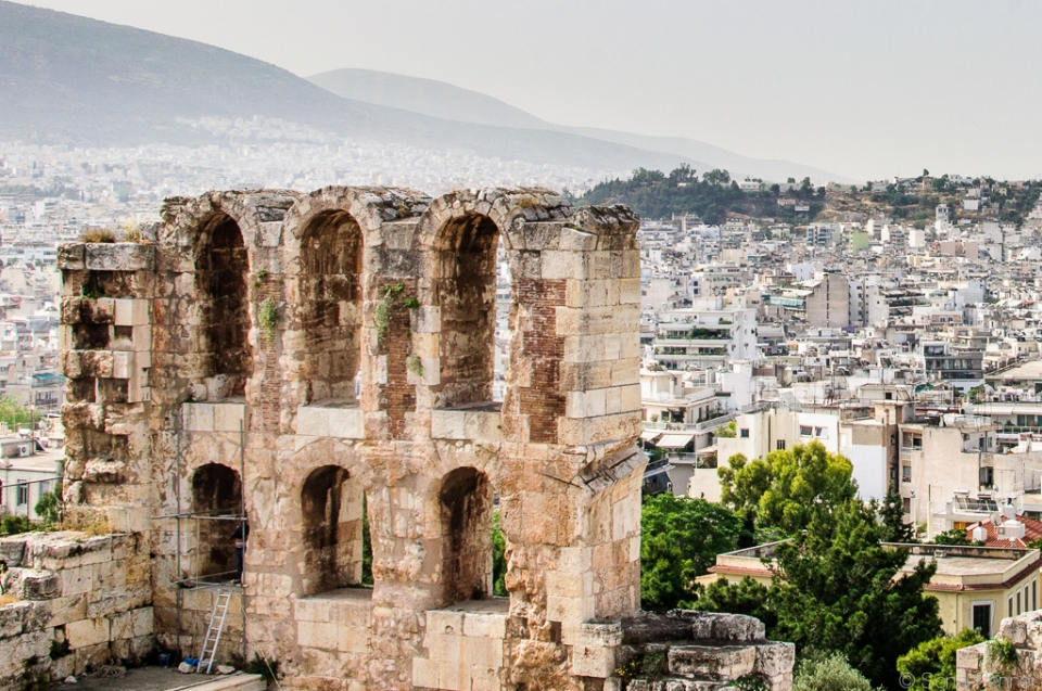 Athens City and Ruins