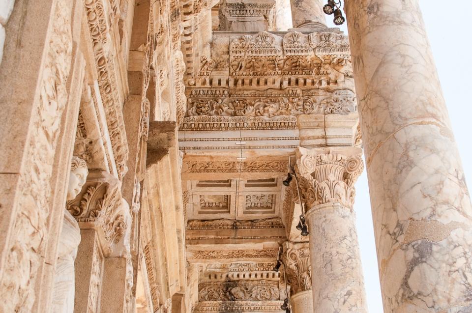 Library of Celsus details