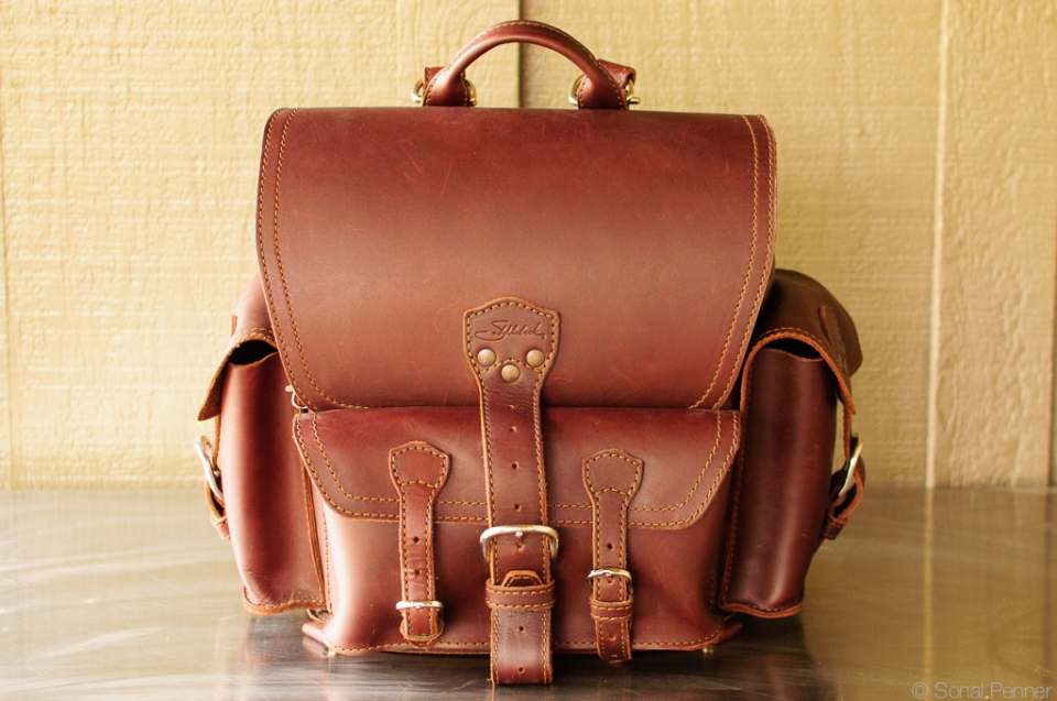 Saddleback leather backpack