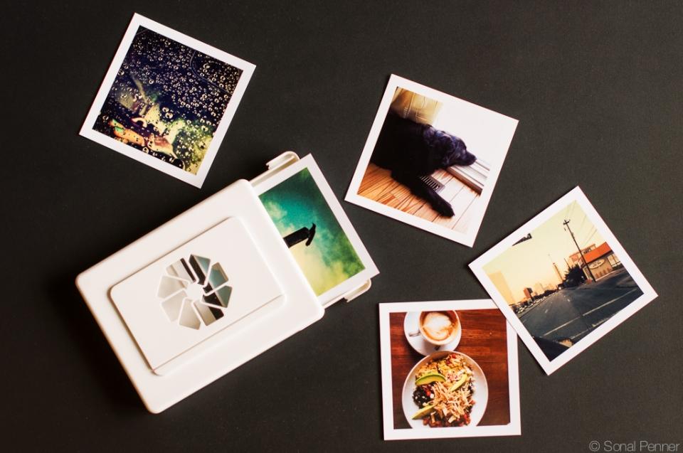 iPhone prints
